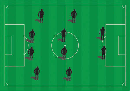 Soccer tips balanced formations the flat 4 4 2 formation is very similar to the diamond except this time both central midfielders play the same role both players will be expected to help publicscrutiny Images